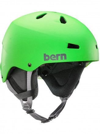 Mens Team Macon Thin Shell Helmet W/eps Foam Green