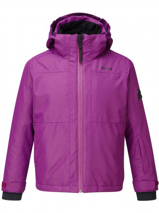 Kids Bedlam Waterproof Insulated Ski Jacket Purple