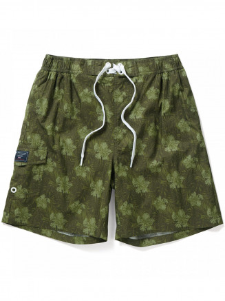 Mens Cove Swimshorts Green