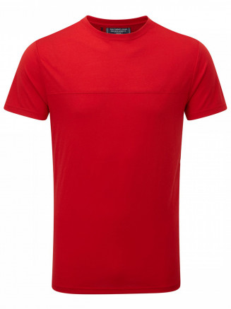 Mens Dale Dri-release Wool T-shirt Red