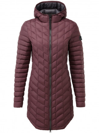 Womens Goole Insulated Jacket Red