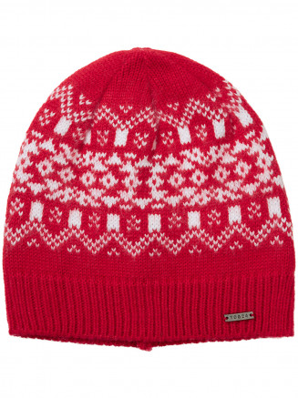 Womens Isle Hat Red