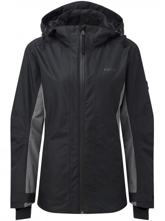 Womens Piper Waterproof Insulated Ski Jacket Black
