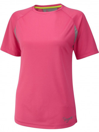 Mujer Performance Deportes camisa Rosa