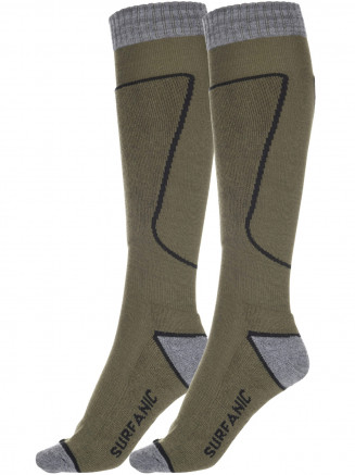 Mens Pro Sock 2 Pack Green