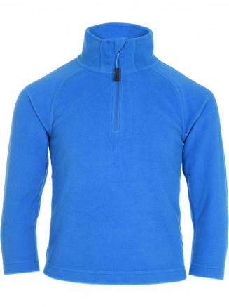 Boys Thermal Zip Micro Fleece Blue