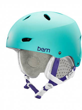 Womens Brighton Eps Helmet With Liner Turquoise