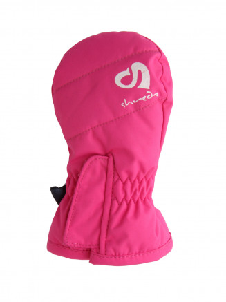 Niñas Infants Mitt Rosa