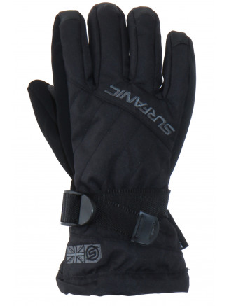 Boys Snapper Surftex Glove Black
