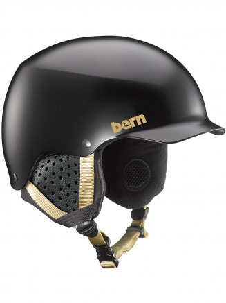 Womens Muse Helmet With Liner Black