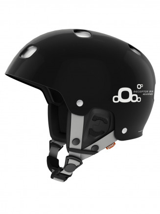 Adulto Receptor Bug casco negro ajustable