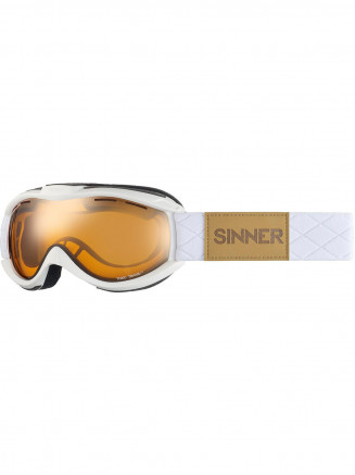 Mens Womens Toxic Goggles White