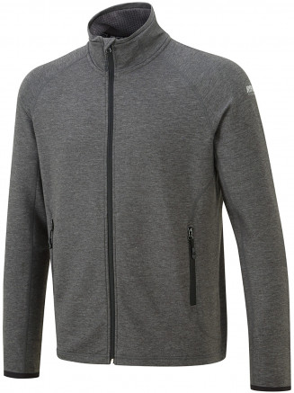 Mens Contender Full Zip Fleece Black