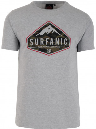 Mens Diamond T -shirt Grey
