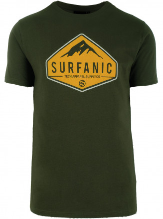Mens Diamond T -shirt Green