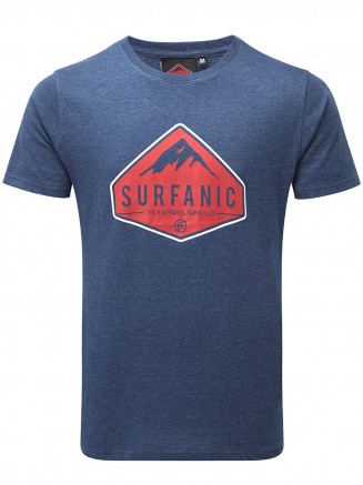 Mens Diamond T -shirt Blue