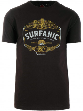 Mens On The Piste T-shirt Black