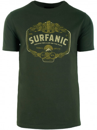 Mens On The Piste T-shirt Green