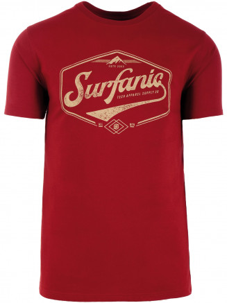 Mens Vintage T-shirt Red