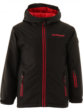 Boys Stubby Surftex Jacket Black